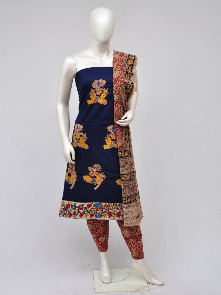 Ladies Dress Material Doll Drop Kalamkari [D70327076]