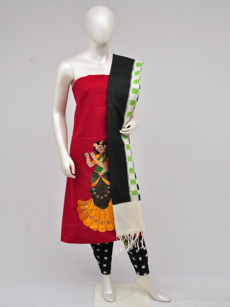 Pochampally Ikkat Doll Drop Dress Material [D61023060]