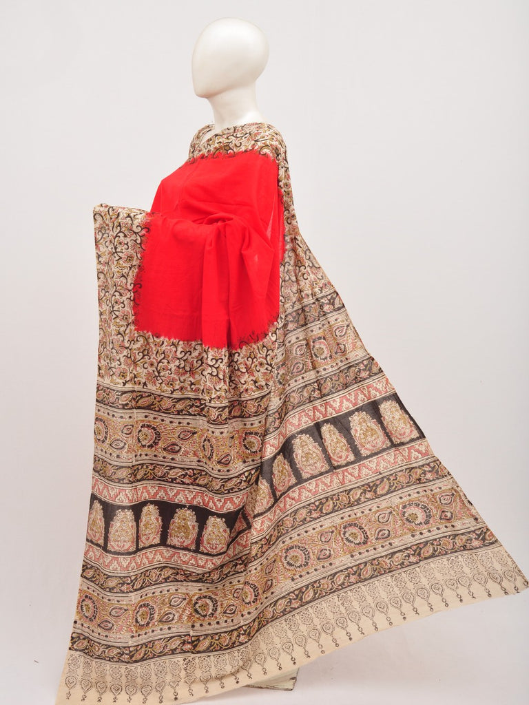 Kalamkari Cotton Saree [D00712044]