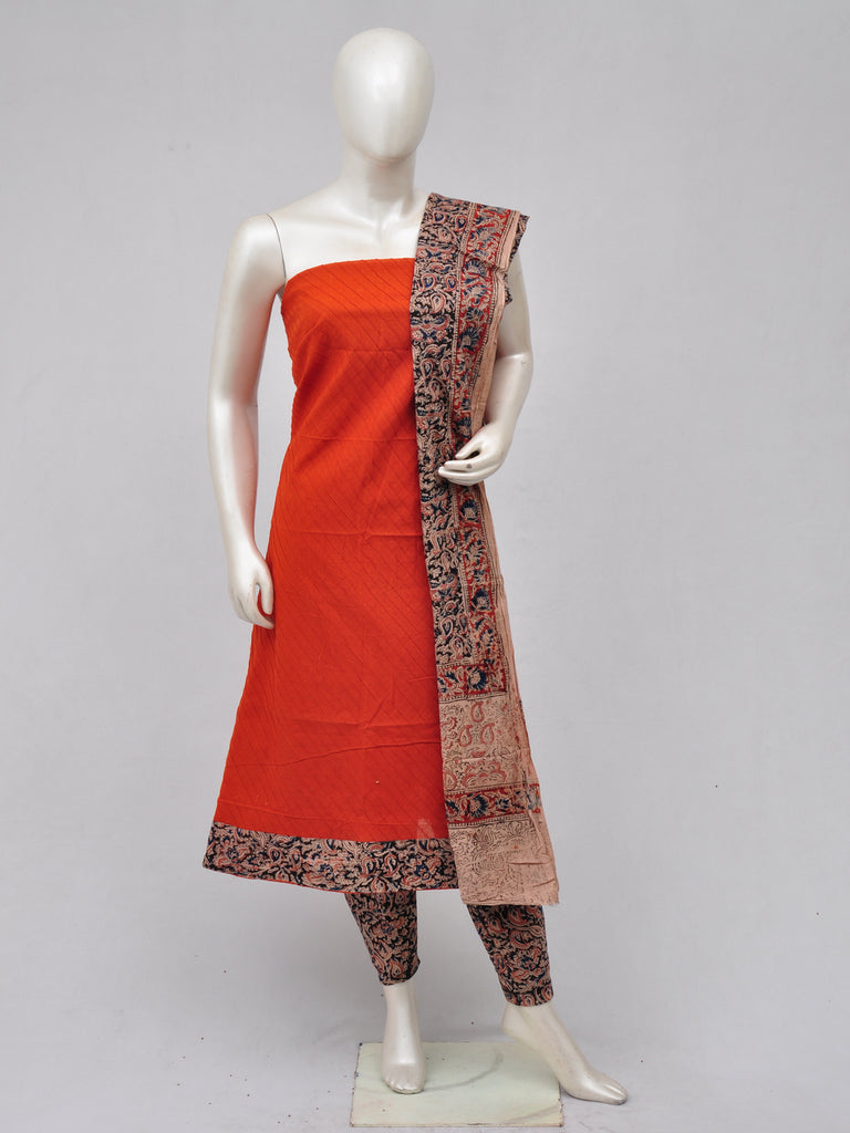 Kalamkari Designer Patch Dress Material [D70328132]