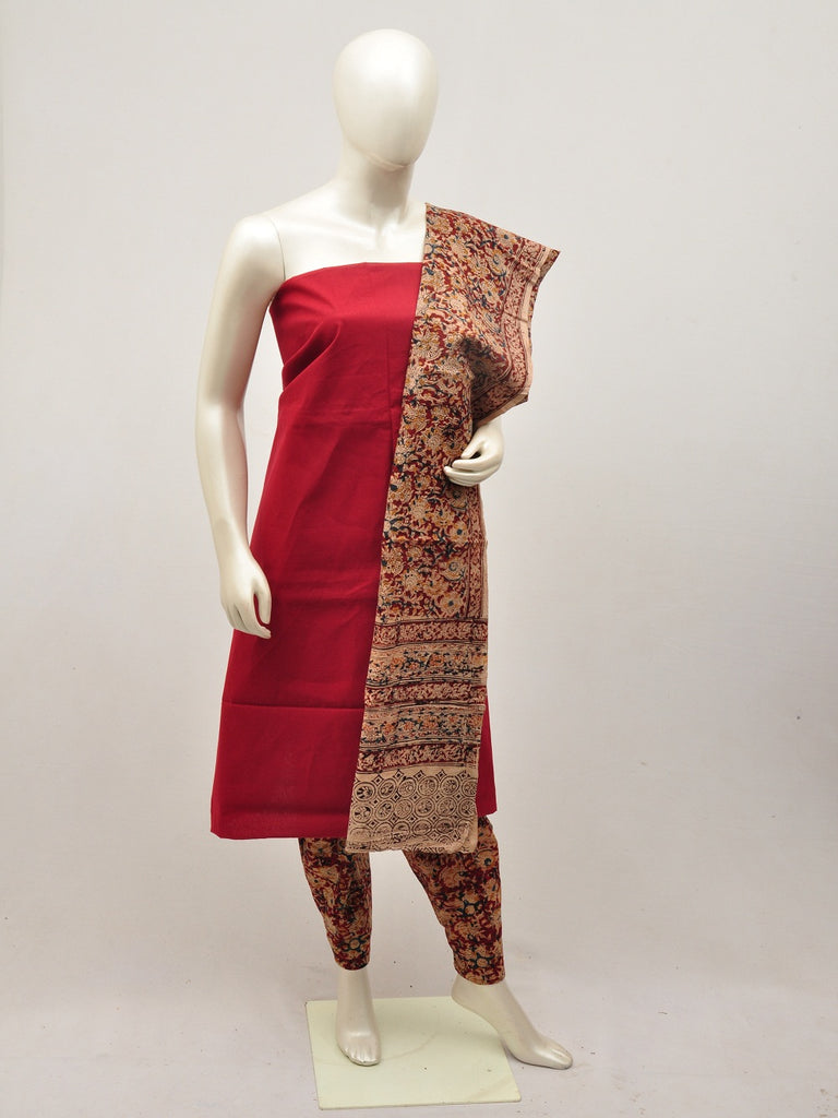 kalamkari dress material [D14000013]