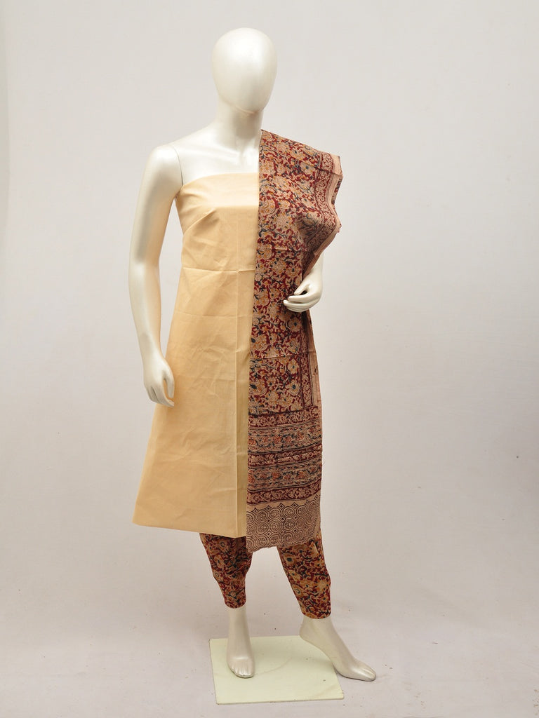 kalamkari dress material [D14000016]