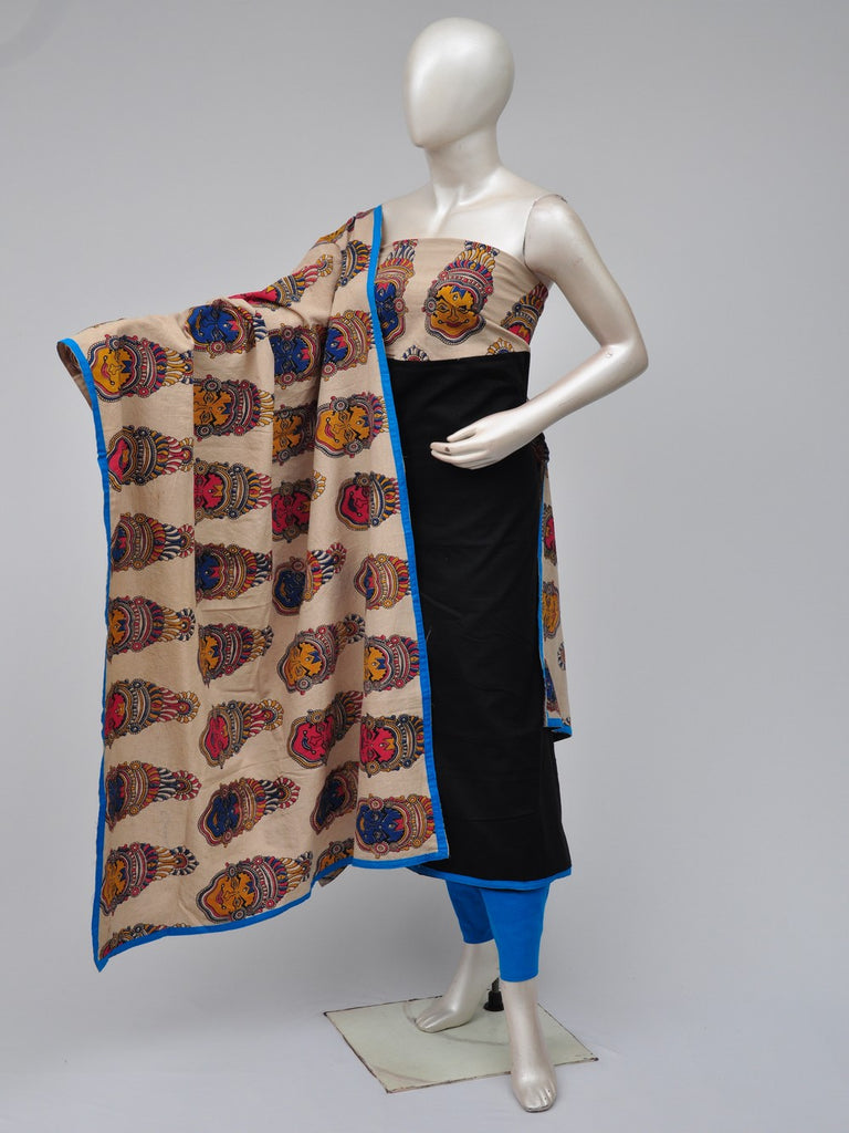 kalamkari dress material  [D70722233]