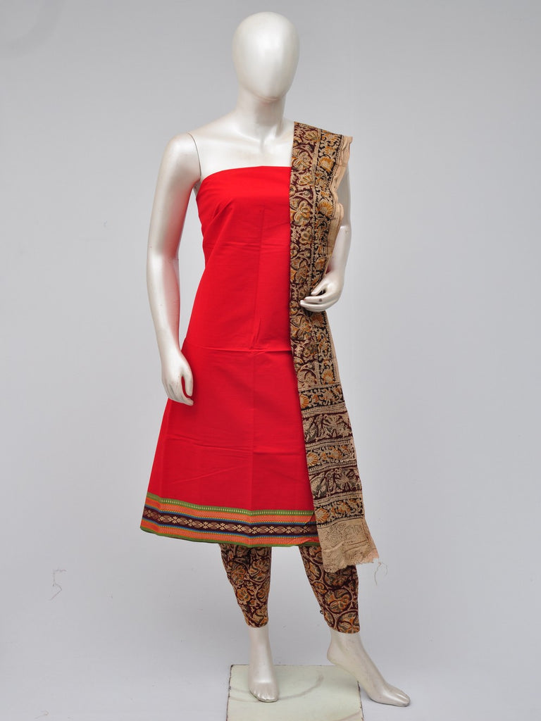 kalamkari dress material  [D70722221]