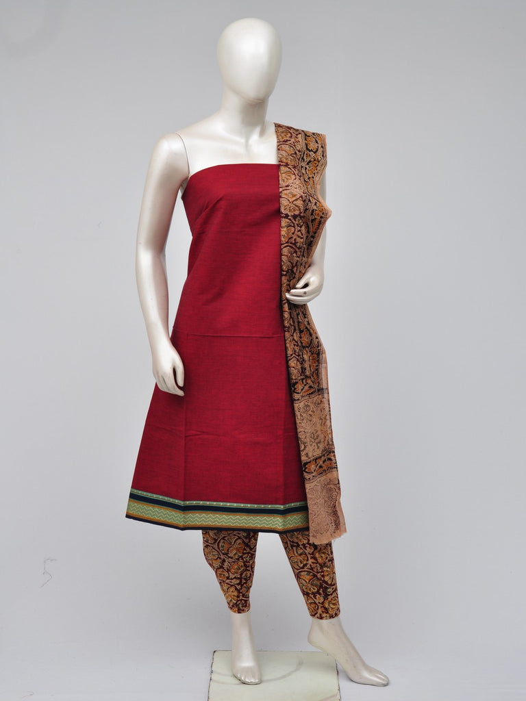 kalamkari dress material  [D70722225]