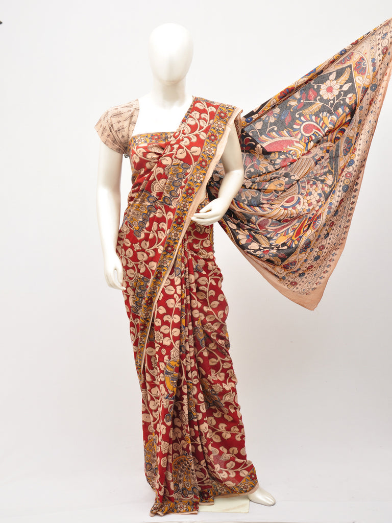 Kalamkari  Cotton Saree [D60527049]