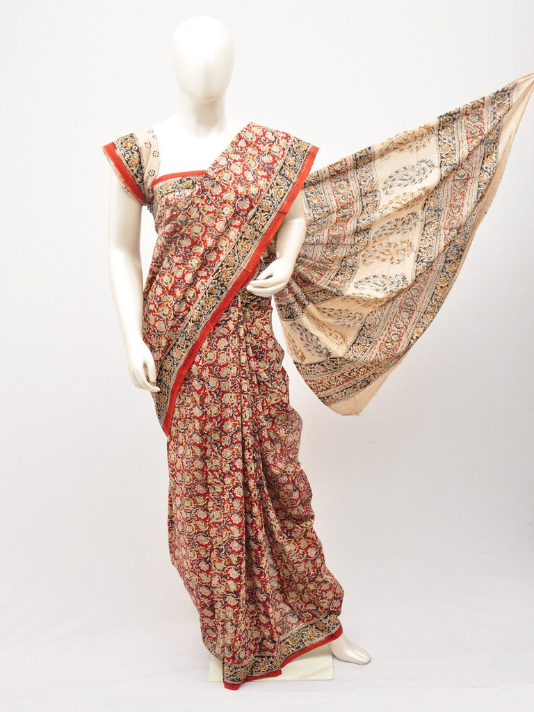 Kalamkari  Cotton Saree [D60527057]