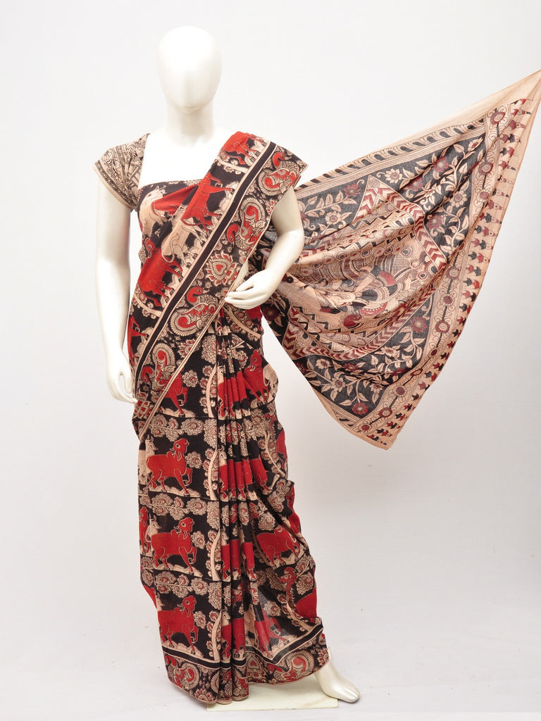Kalamkari  Cotton Saree [D60527058]