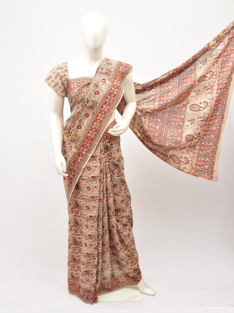 Kalamkari  Cotton Saree [D60527066]