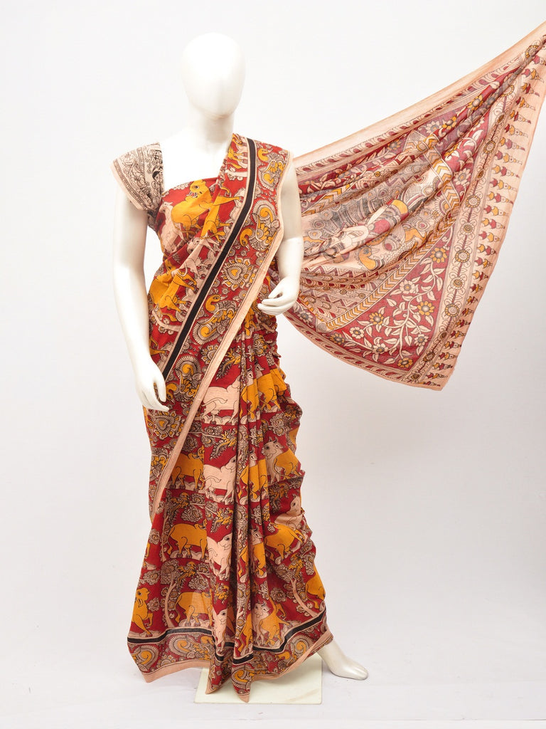 Kalamkari  Cotton Saree [D60527067]