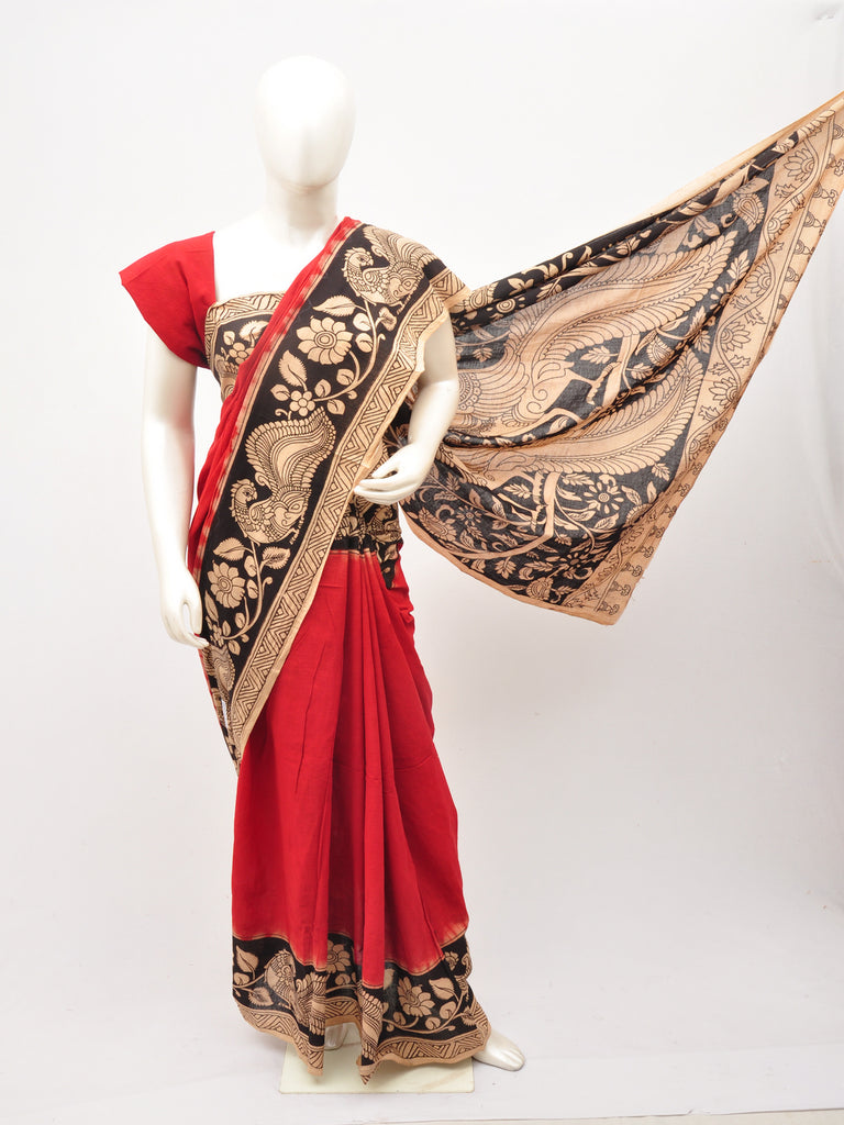 Kalamkari  Cotton Saree [D60527100]