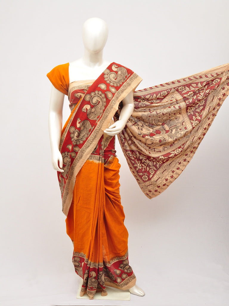 Kalamkari  Cotton Saree [D60527086]