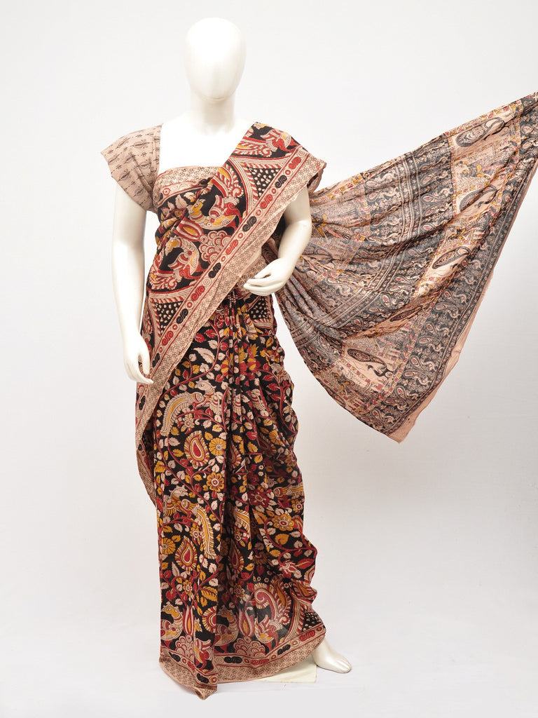 Kalamkari  Cotton Saree  [D60527098]
