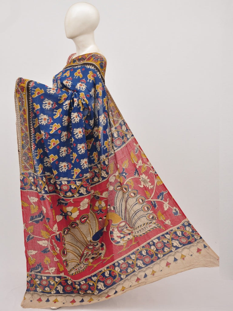 Kalamkari  Cotton Saree [D91020049]