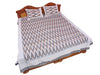 Pochampally Ikkat Cotton Double Bedsheet  [D1153207]
