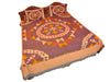 Pochampally Ikkat Cotton Double Bedsheet  [D1153234]
