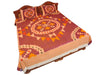 Pochampally Ikkat Cotton Double Bedsheet  [D1153235]
