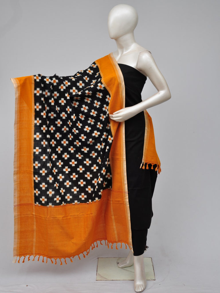 Double Ikkat Dupatta Dress Material [D70706207]