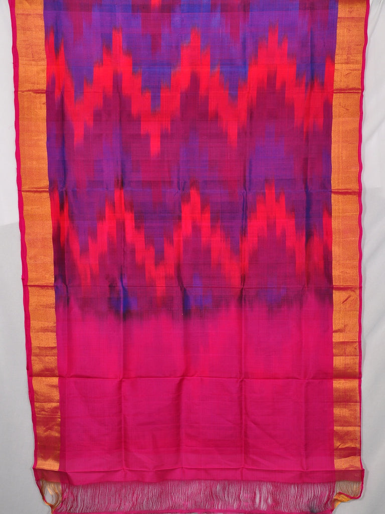 Pochampally ikat pure silk saree [D11132946]