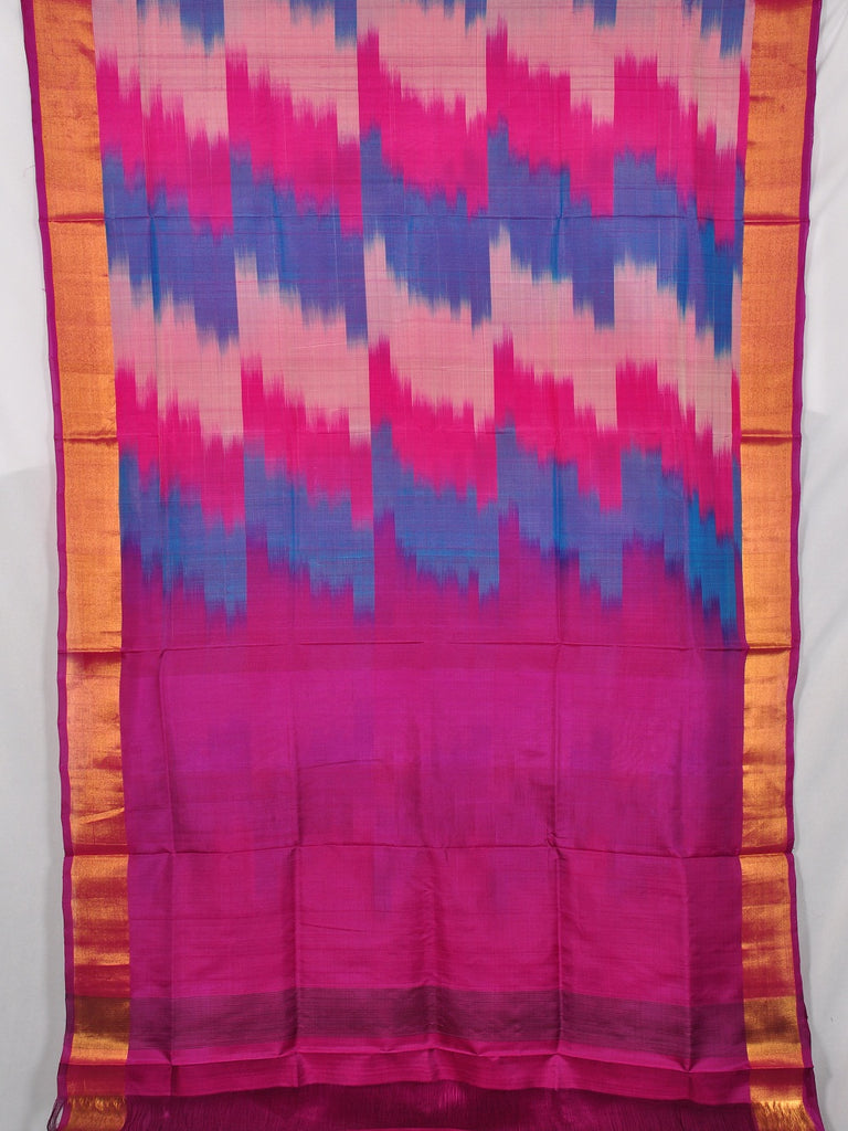 Pochampally ikat pure silk saree [D11132951]