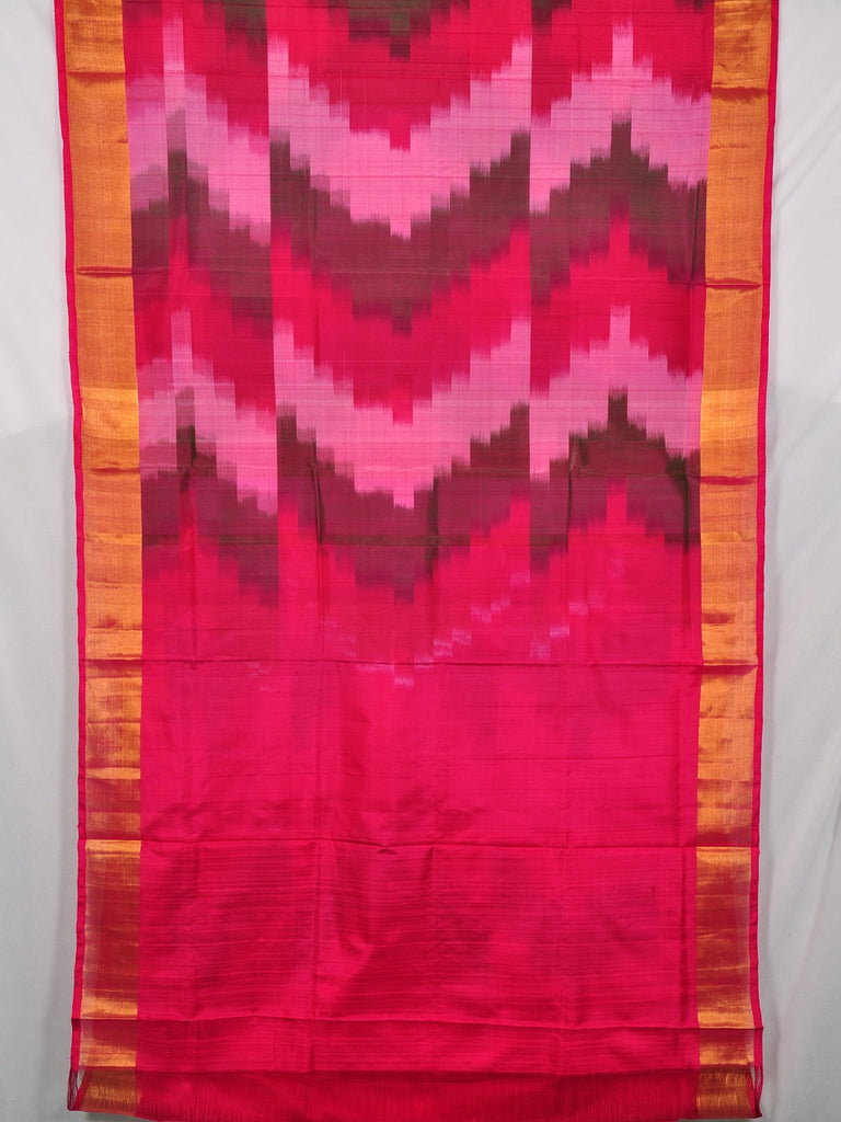 Pochampally ikat pure silk saree [D11132953]