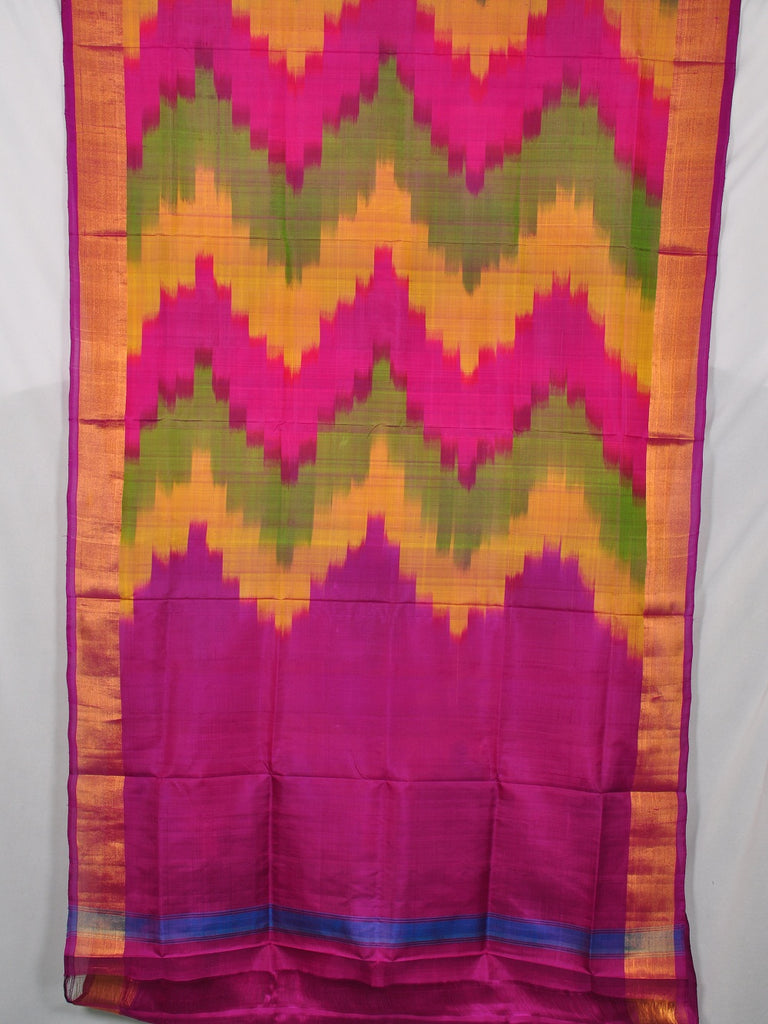 Pochampally ikat pure silk saree [D11132956]