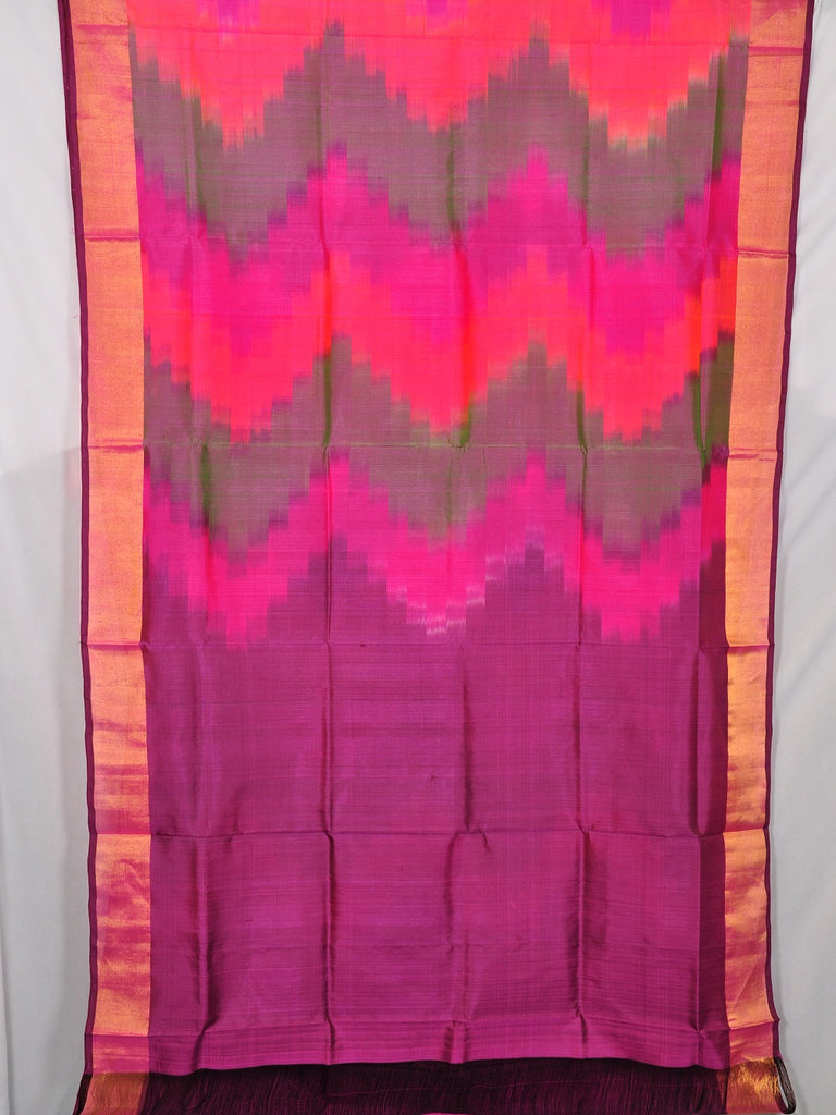 Pochampally ikat pure silk saree [D11132958]