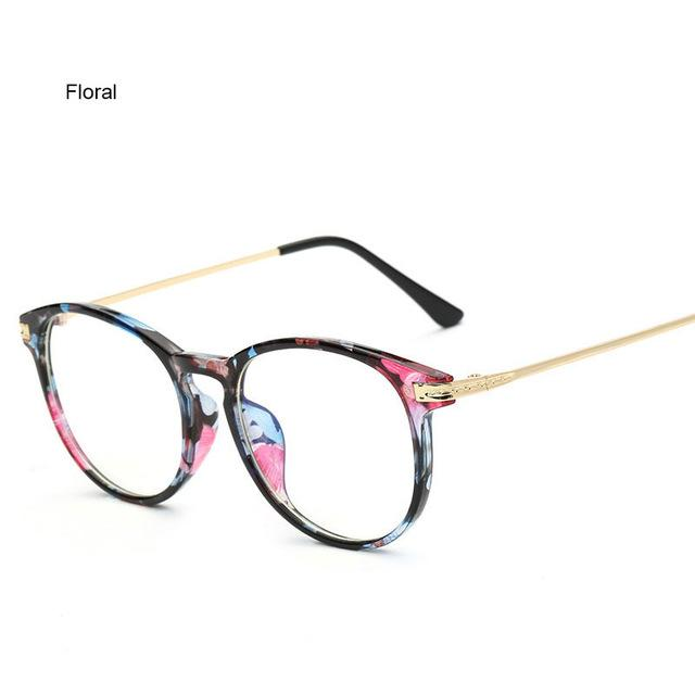 37d5bbb1aa Women Computer Glasses Round Transparent Eyeglasses for Men Spectacle Frame  Oculos De Grau Fashion Clear Lenses