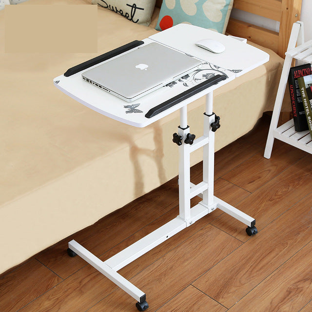 Ordinaire Wooden Rotatable Adjustable Laptop Bed Table.