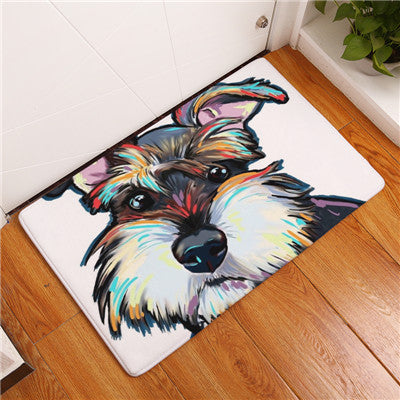 Dog Painting Anti-slip Mat