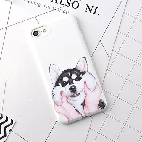 Husky Dog Case For iPhone