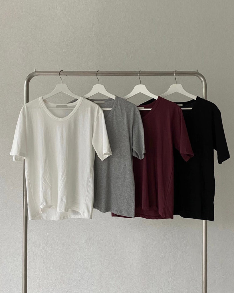 Hannah Basic Scoop Neck Tee