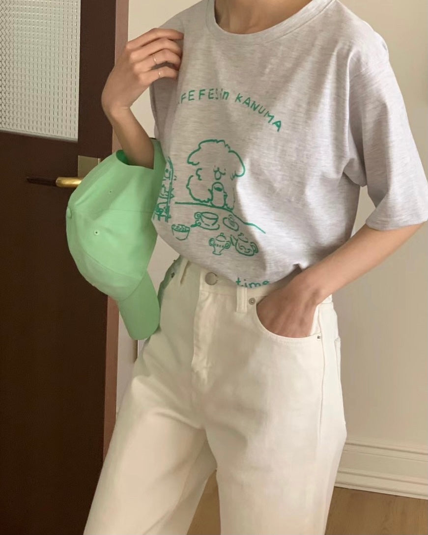 Cafe Time Tee