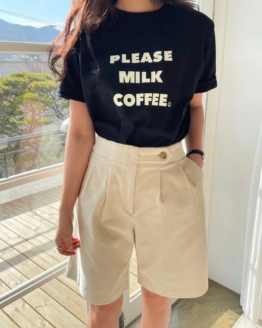Breakfast Tee (Black)