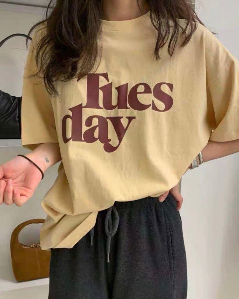 Tuesday Tee (Yellow)