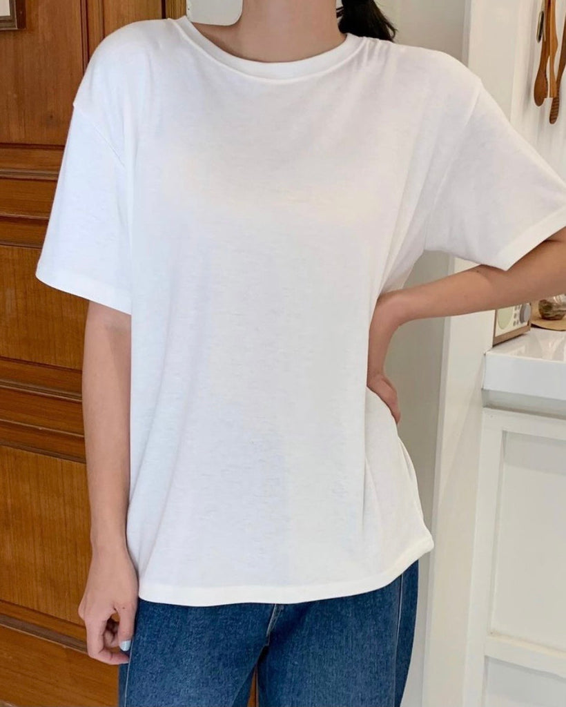 Mara Basic R Neck Tee