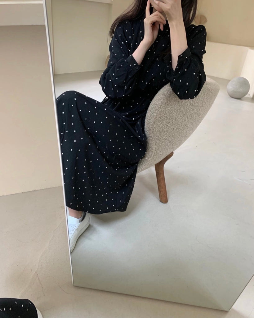 Stella Dotted Print Ops (Black)