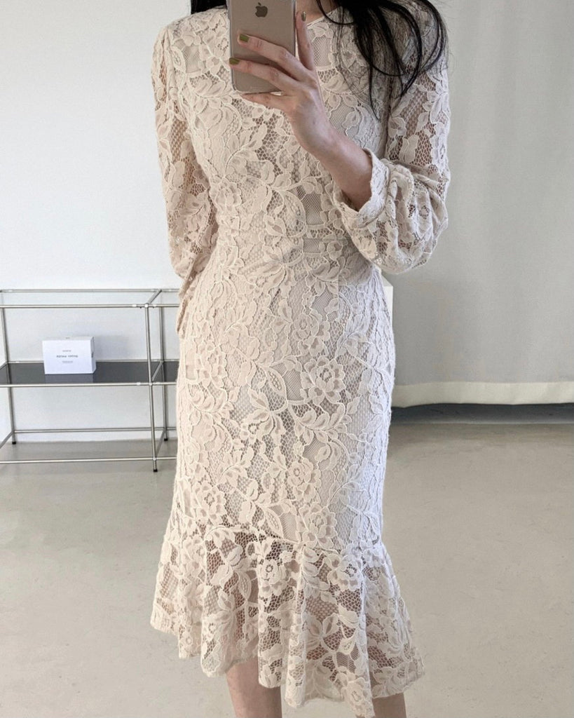 Willabel Mermaid Floral Lace Ops