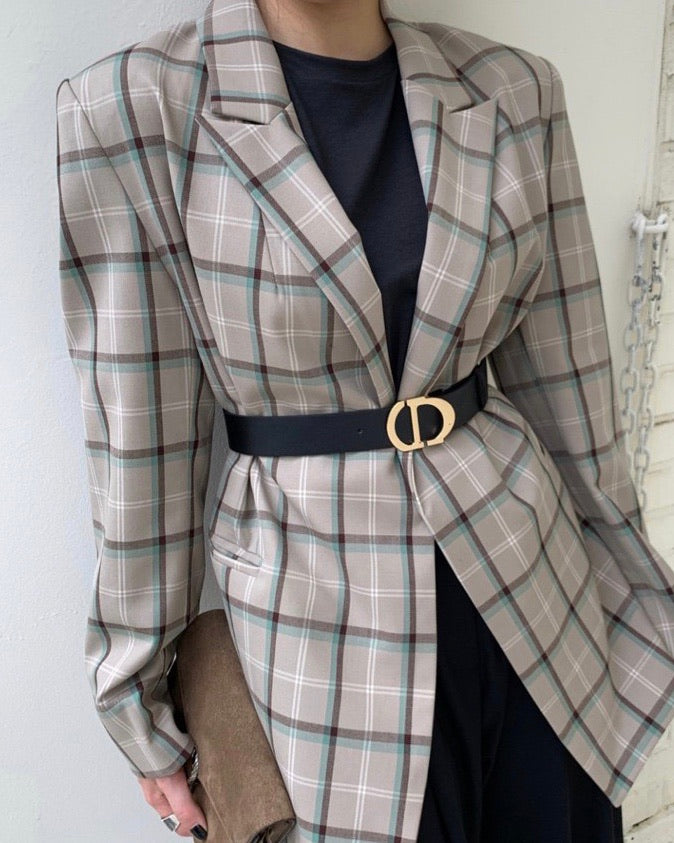 Andi Plaid Jacket