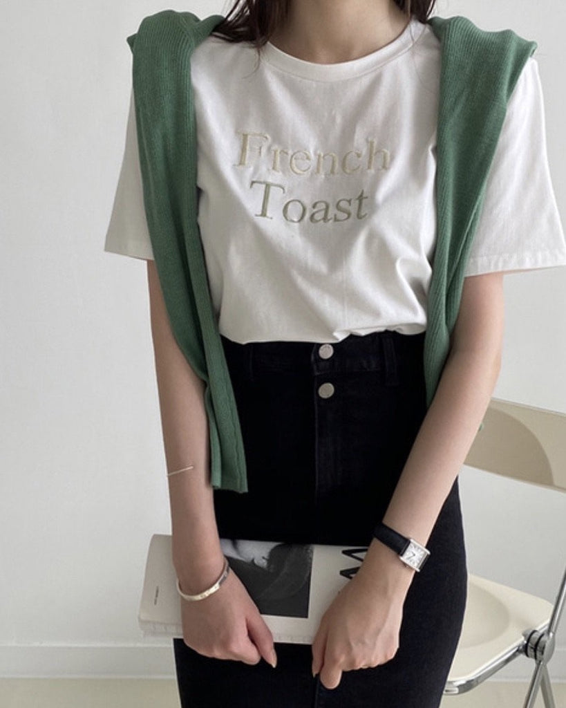 French Toast Tee (Ivory)