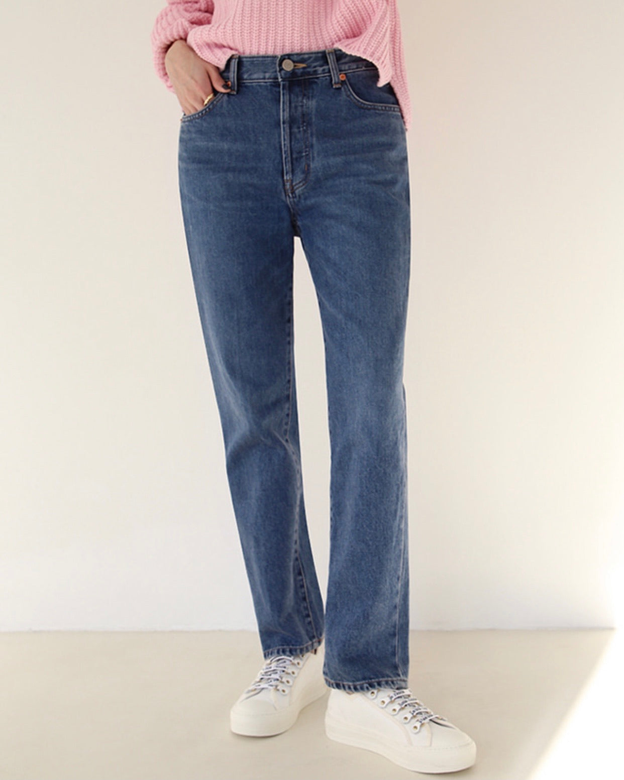 Sandie Button Loose Jeans (No.281)