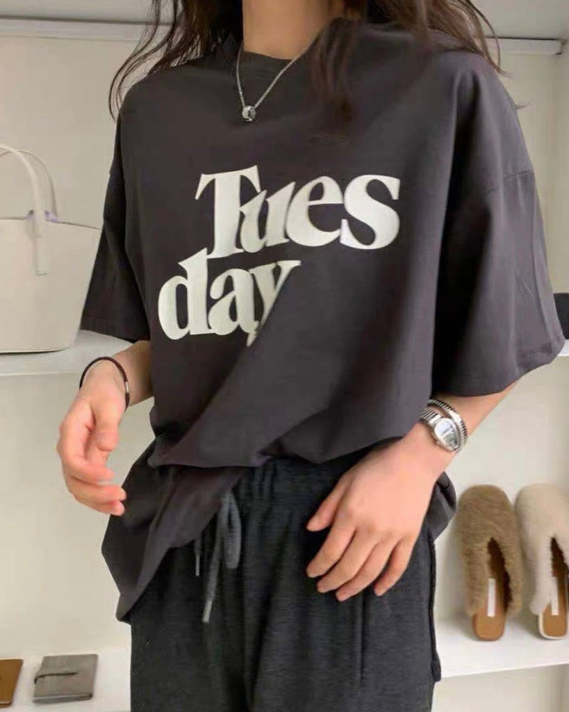 Tuesday Tee (Black)