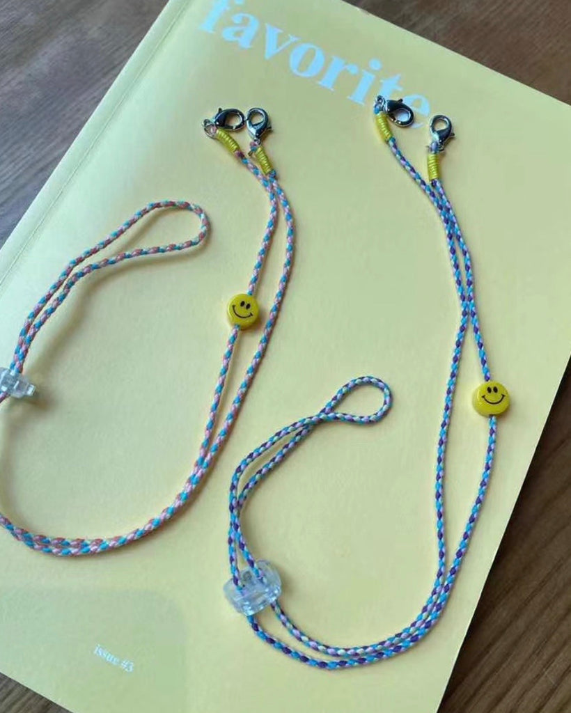 Smiley Rope Adjustable Mask Chain