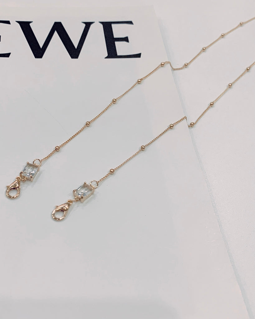 Diamond Charm Mask Chain