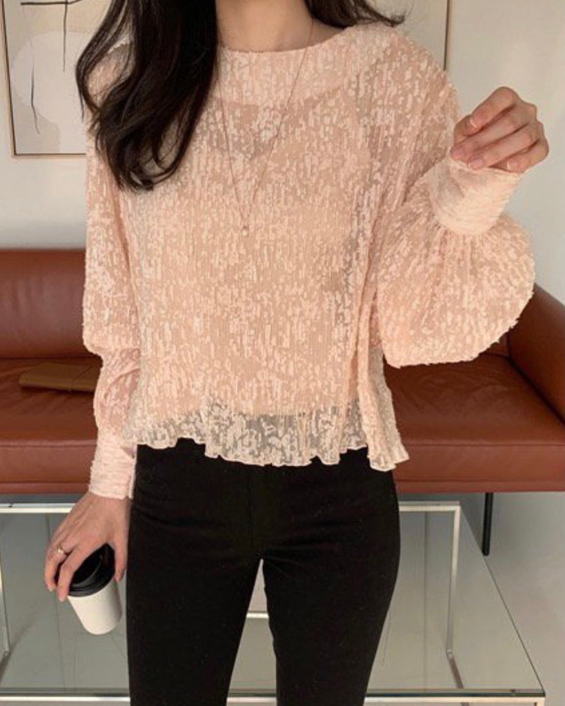 Jerry Textured Blouse