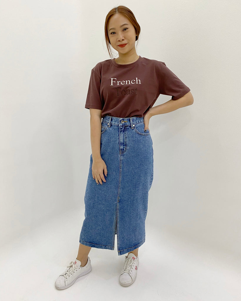 French Toast Tee (Brown)