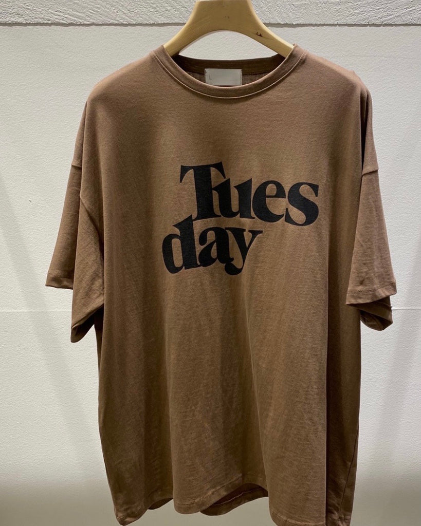 Tuesday Tee (Brown)