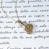 Vintage charm in the shape of a glass and 18K gold bottle, 60s / 70s - Antichità Galliera