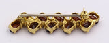 Gold brooch with garnets, 40s - Antichità Galliera