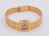 Lady Le Monde wristwatch in 18k gold circa 1950 - Antichità Galliera
